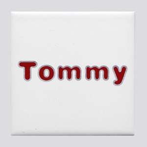 Tommy Santa Fur Tile Coaster